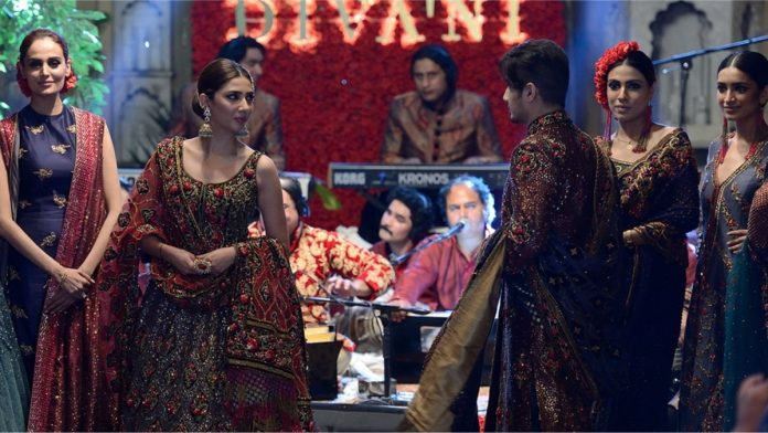 Ali Zafar and Mahira Khan walk as showstoppers