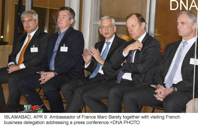 French businessmen keen to invest in Pakistan